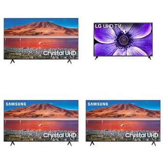 24 Pcs – LED/LCD TVs – Refurbished (GRADE A, GRADE B) – Samsung, VIZIO, LG, SCEPTRE