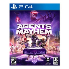 46 Pcs - Deep Silver Agents Of Mayhem Launch Edition (PS4) - New - Retail Ready