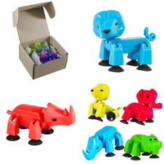 Pallet - 302 Pcs - Action Figures, Pretend & Dress-Up, Boardgames, Puzzles & Building Blocks, Stuffed Animals - Customer Returns - Stikbot, Toy Shed, Kid Connection, Zing