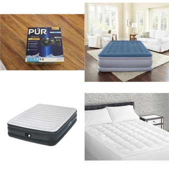 6 Pallets – 197 Pcs – Hardware, Kitchen & Dining, Covers, Mattress Pads & Toppers, Home Health Care – Customer Returns – Kaz, PUR, Mainstay's, Aerobed