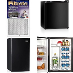 Pallet - 16 Pcs - Accessories, Bar Refrigerators & Water Coolers, Refrigerators - Customer Returns - Filtrete, HAIER
