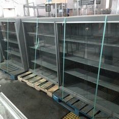 25 Pallets - 31 Pcs - Store Furniture and Office Fixtures - Used