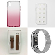 150 Pcs - Electronics & Accessories - New - Retail Ready - Heyday, PopSockets, BodyGuardz, FitBit