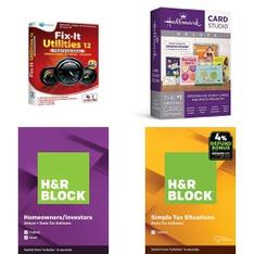 3 Pallets – 742 Pcs – Software, Other, Accessories, Keyboards & Mice – Customer Returns – Onn, H&R Block, Blackweb, Avanquest