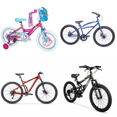 Pallet – 7 Pcs – Cycling & Bicycles – Customer Returns – Huffy, Hyper Bicycles, Hyper, Columbia