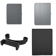 56 Pcs - Tablet Accessories - New, Open Box Like New, New Damaged Box, Used, Like New - Speck, Kenu, OtterBox, Heyday