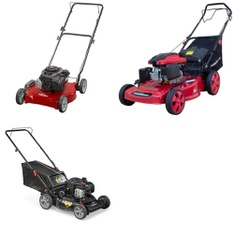 Pallet - 6 Pcs - Lawn Mowers - Customer Returns - Hyper Tough, Murray, PowerSmart