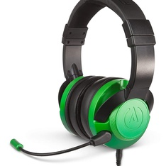 10 Pcs – PowerA 1512375-01 Fusion Wired Stereo Gaming Headset with Mic – Emerald Fade – Refurbished (GRADE A)