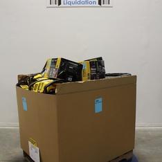 3 Pallets - 173 Pcs - Power, Hand, Automotive Accessories, Automotive Parts - Customer Returns - Stanley, EverStart, Torin, Bon-Aire