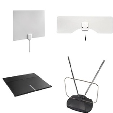 Pallet – 168 Pcs – Electronic Accessories – Customer Returns – Onn, One For All, Monster, Blackweb