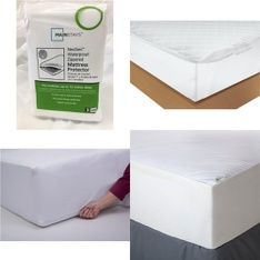 Pallet – 50 Pcs – Covers, Mattress Pads & Toppers, Comforters & Duvets – Customer Returns – Mainstays, Mainstay's, Aller-Ease, AllerEase