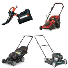 Pallet – 9 Pcs – Mowers – Customer Returns – Worx, Hyper Tough