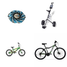 Pallet – 17 Pcs – Cycling & Bicycles, Outdoor Sports – Customer Returns – Keeper Sports, Movelo, Eagle Series, Hyper Bicycles