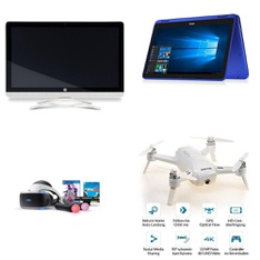 CLEARANCE! 11 Pcs - Drones & Quadcopters Vehicles, Laptops, Portable Speakers - Refurbished (GRADE D) - iHOME, SHARPER IMAGE, DELL, Yuneec