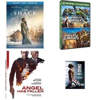 150 Pcs – Movies & TV Media – New – Retail Ready – Lionsgate, Paramount, Lions Gate, Paramount Pictures