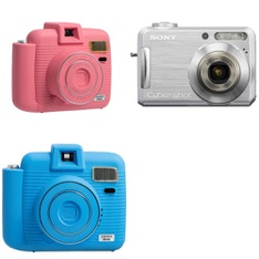 12 Pcs - Point & Shoot Cameras - Refurbished (BRAND NEW, GRADE B) - Models: 1009079, 1009078, DSC-S700