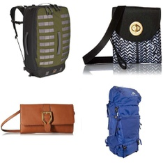 31 Pcs - Backpacks, Bags, Wallets & Accessories - New, New Damaged Box - Retail Ready - Buckle Down, Buckle-Down, Cat & Jack, aminco
