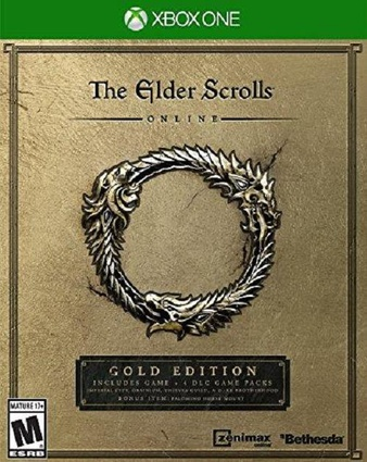 25 Pcs – Bethesdasoft The Elder Scrolls Online: Gold Edition – Xbox One – New – Retail Ready