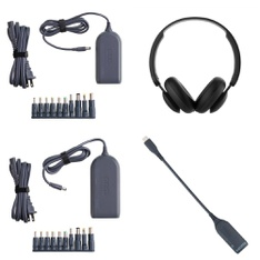 Pallet - 582 Pcs - Other, Power Adapters & Chargers, Over Ear Headphones, Keyboards & Mice - Customer Returns - Onn, onn., Hyper Tough, Speck