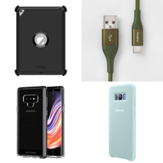 250 Pcs - Cellular Phones Accessories - New - PopSockets, Heyday, Tech21, Speck