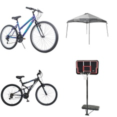 Pallet - 7 Pcs - Cycling & Bicycles - Customer Returns - Movelo, LIFETIME PRODUCTS, INC, Ozark Trail, Hyper Bicycles