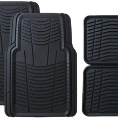 28 Pcs – Member's Mark All-Weather Automotive Floor Mats (4 Pack, Black) – New – Retail Ready