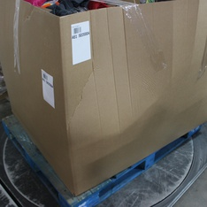 Clearance! Pallet - 579 Pcs - T-Shirts, Polos, Sweaters, Pantry, Girls, Office Supplies - Customer Returns - Goodfellow & Co, Cat & Jack, Hershey's, Bullseye's playground
