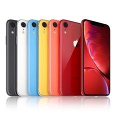 5 Pcs - Apple iPhone XR 256GB - Unlocked - Certified Refurbished (GRADE A)