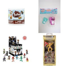 Pallet - 393 Pcs - Action Figures, Dolls, Boardgames, Puzzles & Building Blocks, Stuffed Animals - Customer Returns - Hasbro, Funko, My Life As, Basic Fun