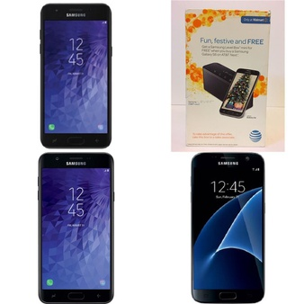 17 Pcs – Samsung Smartphones – Tested NOT WORKING – Models: STSAS367VCP, STSAS767VCP, G930VL, 6942A