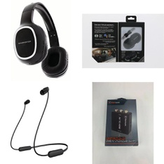 3 Pallets - 764 Pcs - Accessories, Lamps, Parts & Accessories, Over Ear Headphones, In Ear Headphones - Customer Returns - Monster, Blackweb, Sony, Apple