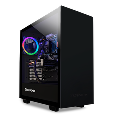 iBUYPOWER WA563GT4 Desktop Ryzen 3 2300X 3.5GHz NVIDIA GeForce GT1030 2GB 8GB RAM 1TB HDD Black Windows 10 Home - Certified Refurbished