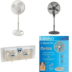 1 Pallet - 39 Pcs - Fans - Customer Returns - Lasko