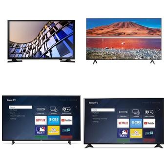 10 Pcs – LED/LCD TVs – Refurbished (GRADE A) – Samsung, Sanyo, Philips, HISENSE