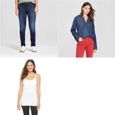 100 Pcs - Shirts & Blouses - New - Retail Ready - Universal Thread, Gilligan & O'Malley