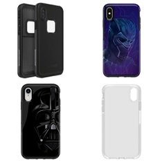 100 Pcs - iPhone XS, iPhone XS, iPhone X, and iPhone XR Max Accessories - Used, New, Like New, Open Box Like New, New Damaged Box - Heyday, OtterBox, LAUT, CASE-MATE