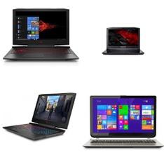 21 Pcs – Laptop Computers – Refurbished (GRADE A, GRADE B, GRADE C – No Power Adapter) – HP, ACER, Samsung, DELL