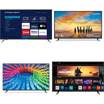 60 Pcs – LED/LCD TVs – Refurbished (GRADE A, GRADE B) – VIZIO, Sony, WESTINGHOUSE