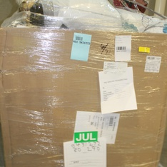 Half Truckload - 13 Pallets - 448 Pcs - Kitchen & Dining, Comforters & Duvets, Accessories, Luggage - Customer Returns - Mainstays, Mr. Coffee, Beautyrest, Better Homes and Gardens