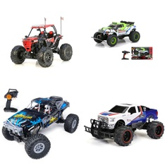 3 Pallets – 94 Pcs – Vehicles, Trains & RC, Powered, Not Powered – Customer Returns – New Bright, Adventure Force, VTECH, Jada Toys
