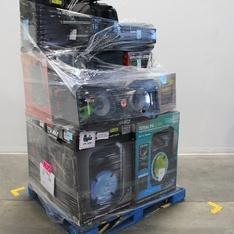 6 Pallets - 113 Pcs - Portable Speakers, Speakers, All-In-One - Customer Returns - Ion, Blackweb, Monster, Canon