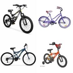 Pallet – 8 Pcs – Cycling & Bicycles – Customer Returns – Hyper Bicycles, Movelo, Columbia, Hot Wheels