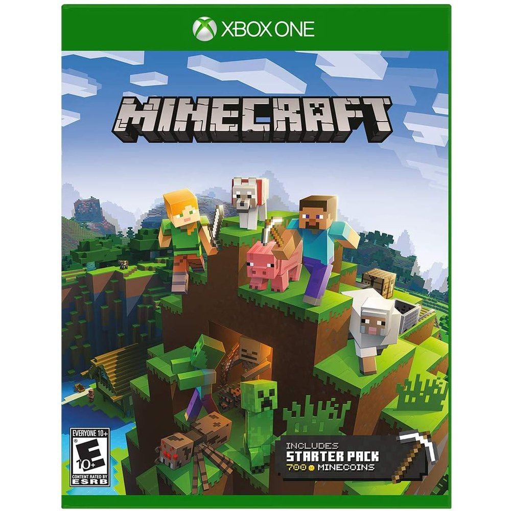 25 Pcs - Microsoft Minecraft Starter Collection - Xbox One - Used, Like  New, Open Box Like New - Retail Ready