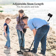 Pallet - 58 Pcs - Marnur Metal Detector for Kids and Adults, Black - Easy to use - Brand New - Retail Ready