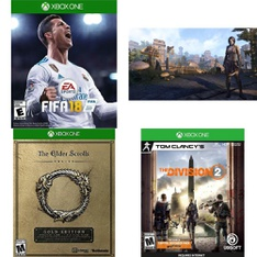 17 Pcs – Microsoft Video Games – Used, New – FIFA 18 Standard Edition – Xbox One, The Elder Scrolls Online: Morrowind (Xbox One), The Elder Scrolls, Tom Clancy's The Division 2 – Xbox One Standard Edition