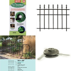 Pallet - 58 Pcs - Other, Patio & Outdoor Lighting / Decor, Accessories - Customer Returns - Flex Able Hose, Panacea Products, Weed Warrior, Gilmour