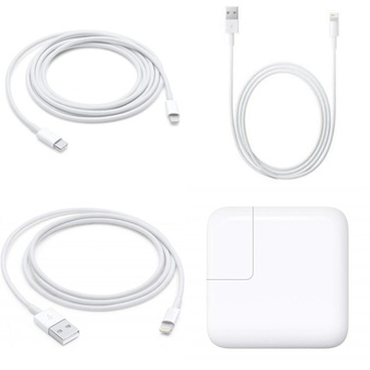3 Pallets – 750 Pcs – Other, Accessories, Speakers, Power Adapters & Chargers – Customer Returns – Apple, Onn, GE, UNBRANDED