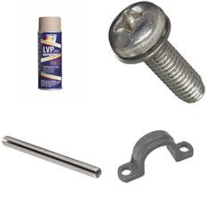 100 Pcs - Home Improvement - New - Retail Ready - Small Parts, ColorBond, threshold, Weatherhead