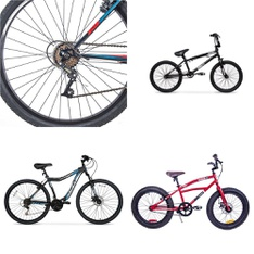 Pallet – 7 Pcs – Cycling & Bicycles – Customer Returns – Movelo, Hyper Bicycles, Hyper, Columbia