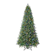 8 Pcs – Member's Mark TG90P4724D03 9′ Color-Changing Virginia Pine Christmas Tree – New – Retail Ready